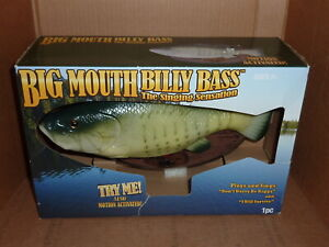 Big Mouth Billy Bass The Singing Sensation Fish New in Box