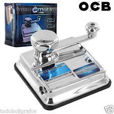 OCB  Mikromatic Máquina de llenado de cigarrillos para entubar NUEVA  y ORIGINAL