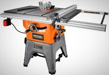 Corded 13 Amp 10 In. Professional Cast Iron Table Saw Workshop Wood Cutting Tool