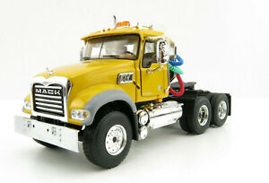 First Gear 50-3116C Mack Granite MP Day Cab 6x4 Prime Mover Yellow Scale 1:50