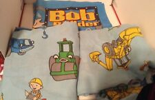 BOB THE BUILDER 3 Pc Twin Sheet Set 2001 Flat, Fitted & Pillowcase