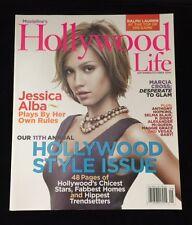 MOVIELINE'S HOLLYWOOD LIFE JESSICA ALBA MAGAZINE SEPTEMBER/OCTOBER 2005