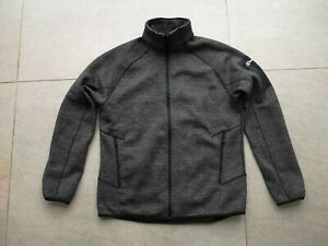 Berghaus Spitzer men's full zip fleece jacket dark grey XXL