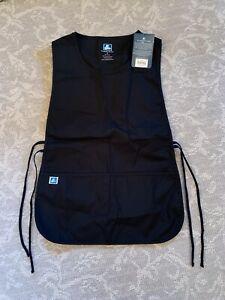Adar Unisex Workwear Cobbler Bib Apron Adjustable 2 Ties and Deep Front Pockets