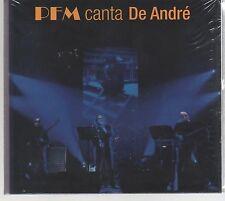 PREMIATA FORNERA MARCONI P.F.M. CANTA DE ANDRE'   PFM  CD + DVD  SIGILLATO!!!