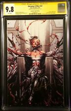 UNCANNY X-MEN #22 CGC SS 9.8 ANACLETO VIRGIN CARNAGE EMMA FROST WHITE QUEEN