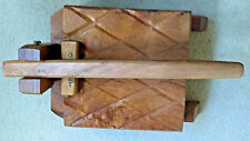 Mexican 100% MESQUITE Wood Manual Tortilla Press Handmade - X Large Size