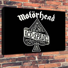 """Motorhead Ace  Of Spades Printed Box Canvas Picture A1.30""""x20""""30mm Deep Metal"""