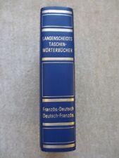 Langenscheidts Taschenwörterbücher Französisch-Deutsch Deutsch-Französisch