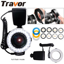 Travor 48LED Ring Flash Light RF-550D Macro for Nikon Canon Olympus Camera ES