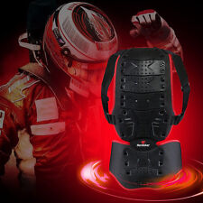 Men Motorcycle Skiing Body Armor Vest Jacket Spine Chest Protection Riding Gear