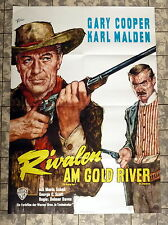 RIVALEN AM GOLD RIVER / Hanging Tree - A1-Filmposter 1965 GARY COOPER