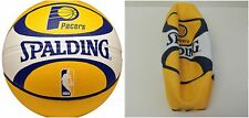 """Spalding Nba Indiana Pacers Team Colors And Logo Basketball 29.5"""""""