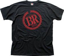 BATTLE ROYALE LOGO MOVIE DVD FUMETTI Nero T-shirt di Cotone 01467