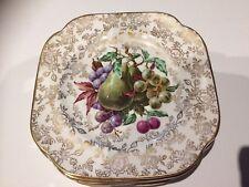 "Longton James Kent ""Pearl Delight"" set of 6 small plates"