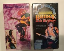 Jimi Hendrix 1973 Documentary+Rainbow Bridge 2 Vhs Lot Warner Brothers/Rhino