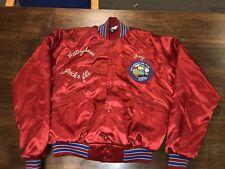 "Vtg Westinghouse Satin Bomber Jacket Windless Flapjacket Jack & Jill ""Fay"""