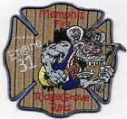 "Memphis  Engine-31  ""Ridge Grove Rats"", TN (4.25"" x 4.25"" size) fire patch"