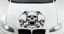 Skull Deadhead Totenkopf Tribal - Aufkleber Dekor für jedes Fahrzeug - Nr. 6