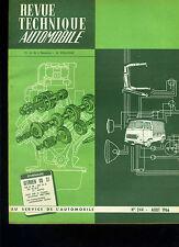 (C15) REVUE TECHNIQUE AUTOMOBILE CITROEN DS 21 / BMC 850 AUSTIN MORRIS et COOPER