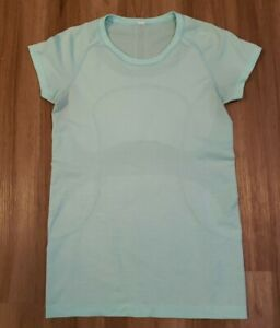 Lululemon Run: Swiftly Tech Short Sleeve Crew Mint green Size 8