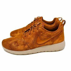 *NEW* Nike Roshe One Premium Metallic Tawny Running Shoes 833928-901 Sz 10