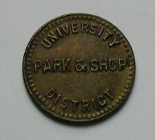 University District Park & Shop (Seattle WA UDPA) Shoppers Free Parking Token