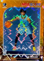 🔥 2019-20 JA MORANT RC /25 NBA Hoops ORANGE EXPLOSION HOLO Refractor TRUE RC!