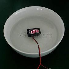 DC 15-120V Digital Waterproof Voltmeter Voltage Meter Voltmeter For Electric car