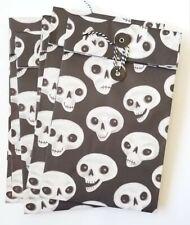 Halloween Gift Bags Paper Treat Sacks Skull Gift Bags 1 Set of 10 Bags