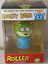 NEW NIB Bossy Bear Roller 2010 David Horvath Toy2R Vinyl 5 inch Figure Toy (D)