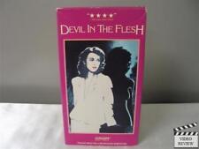 Devil In The Flesh VHS Maruschka Detmers Federico Pitzalis