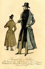 March 1st, 1832  MODES SEWING PATTERN - PAR-DESSUS REDINGOTE A 2 RANGS BOUTONS