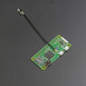 Raspberry Pi Zero W with External WiFi Antenna Connector (U.FL)