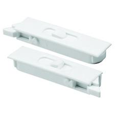 Prime-Line Products F 2749 Tilt Latch Pair, White Plastic Construction, Spring