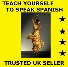 (D024) LEARN TO SPEAK SPANISH LANGUAGE COURSE FOR PC