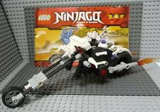 LEGO 2259 Ninjago Skull Motorbike Only - With Instructions - No Minifigs