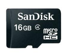 SanDisk 16 GB Class 4 - MicroSDHC Card - (6.20E+11)
