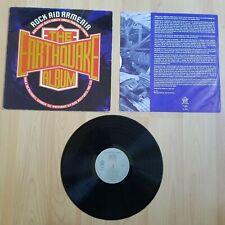"Rock Aid Armenia / Various – The Earthquake Album 12"" Vinyl Record Rock Metal"