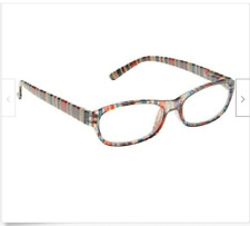 ICU Eyewear Seaside Women's Reading Glasses Multi Color With Soft Case +2.50 New