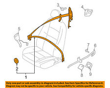 VOLVO OEM 06-11 C70 Front Seat-Belt & Retractor Left 6841715