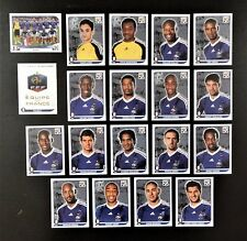 Panini FIFA World Cup South Africa 2010 Complete Team France + Foil Badge