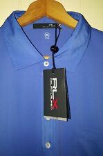 RLX Ralph Lauren Golf Polo Moisture Wicking Shirt Men Size XL NEW $89.50 Blue