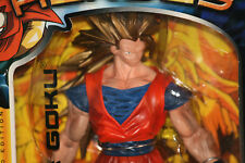 "Dragonball Z MOVIE COLLECTION / UNSTOPABLE HEROES ""SS3 GOKU"" 10"" FIGURE Jakks"