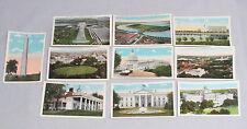 Vintage Lot of 10 B S Reynolds Co. Postcards Post Cards Washington Dc Landmarks