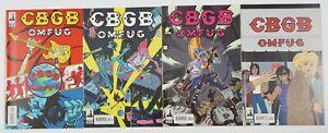 CBGB #1-4 VF/NM complete series pays tribute to new york's underground music 2 3