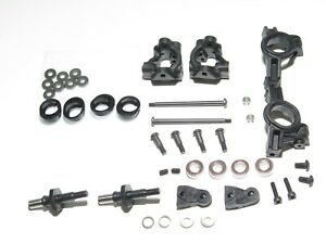 TLR03015 TEAM LOSI RACING 22T 4.0 TRUCK FRONT CARRIERS KNUCKLES SPINDLES AXLES