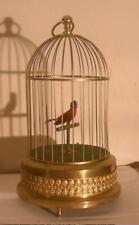 Automaton Singing Bird Karl Griesbaum In A Cage
