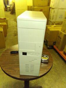 Vintage AT mid Mini Tower Computer Case Build 386 486 Pentium Corner crack 040