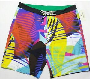 "NWT Tommy Bahama Men MAUI ELECTRIC Relax 9"" Swim Trunks Board Shorts 32 34 36"